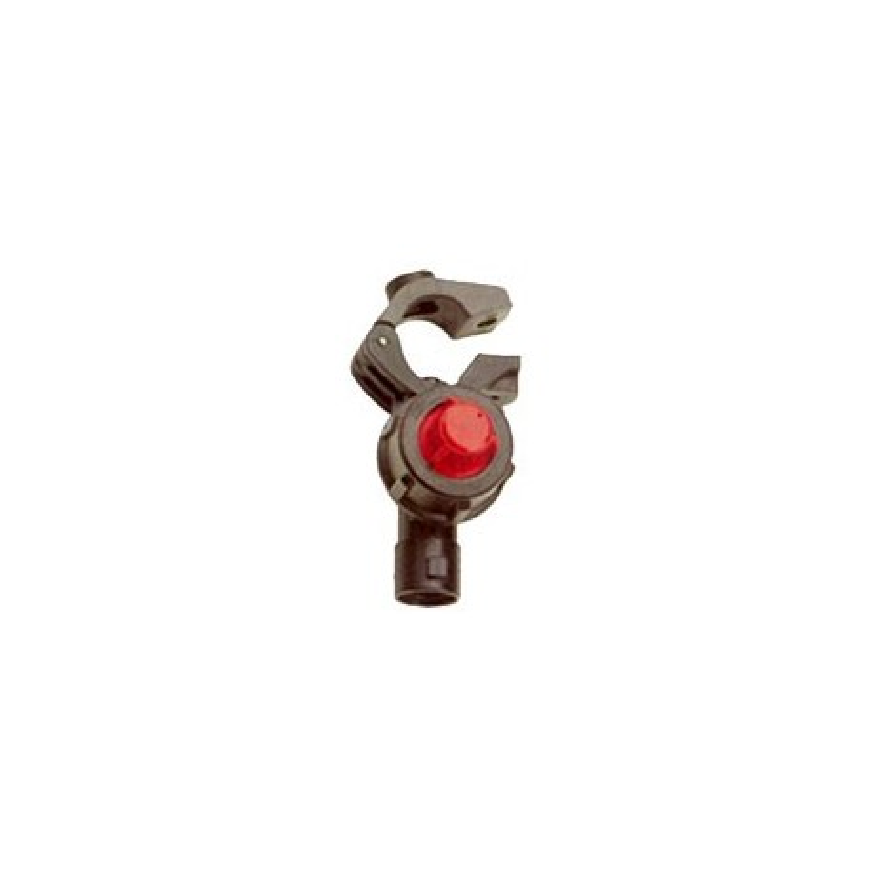 Porte buse à collier articulé raccord rapide et antigoutte