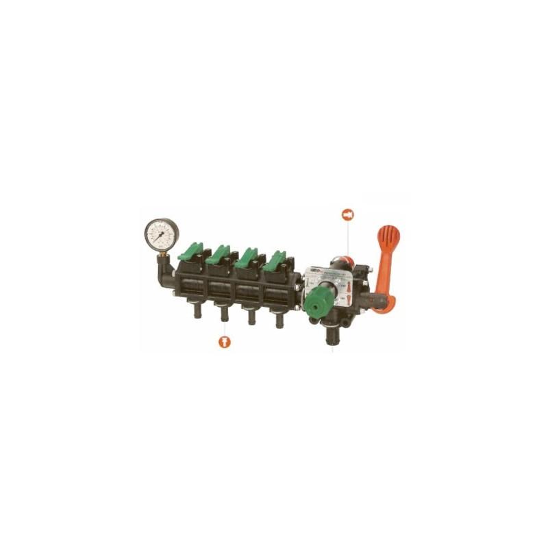 Distrinuteur vannes modulaires, ON/OFF, vanne réglable, anti-goutte