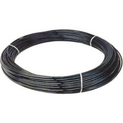 Tuyau droit en polyéthylène noir