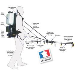 Rampe pour Precispray dorsal