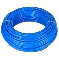 Tuyau droit en polyuréthane 8X10 Bleu