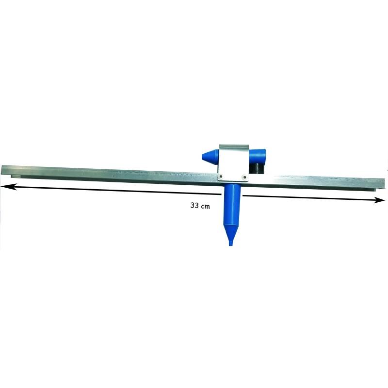 Rampe aluminium + VENTURI