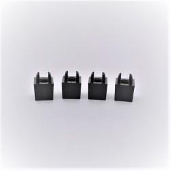 Evidement carré 17mm (lot de 4) pour presse-mottes